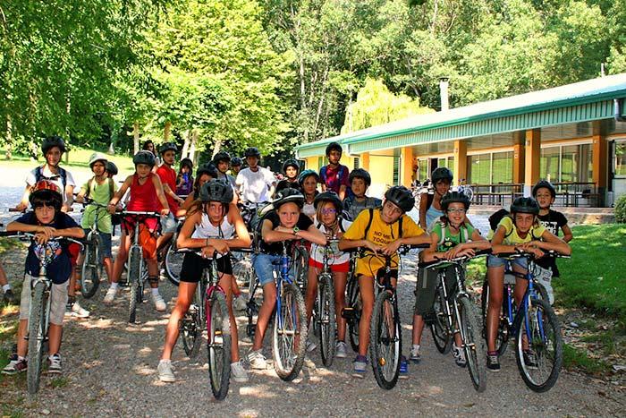 Excursió en bicicleta a la casa de colònies El Rourell