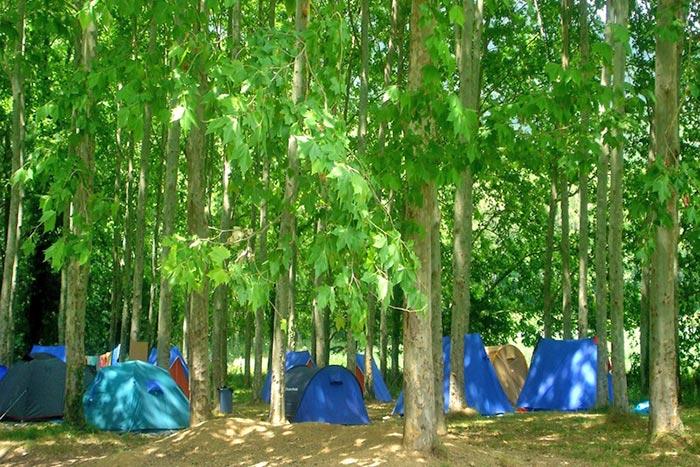 Acampada a la casa de colònies El Rourell