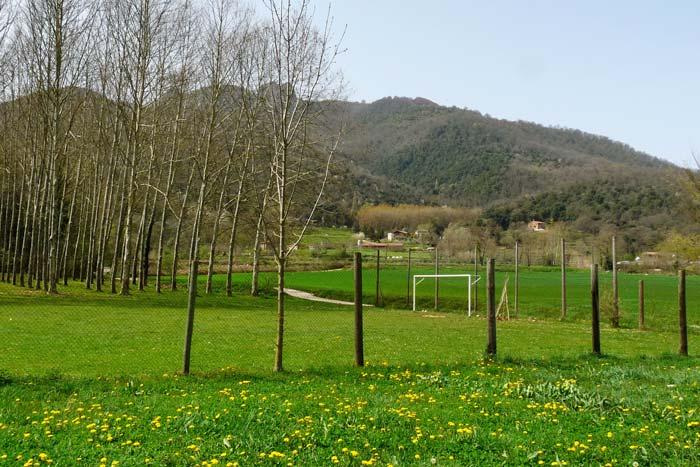 Camp de futbol de la casa de colònies El Rourell