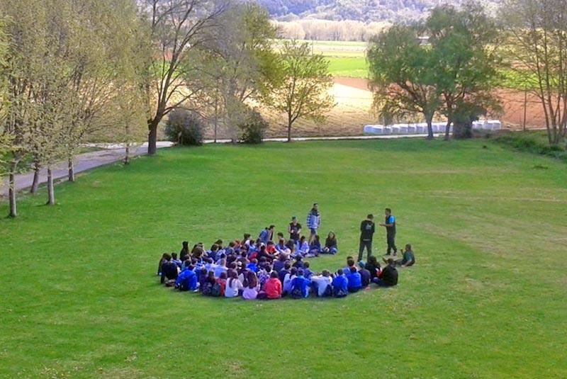 Colònies per alumnes d'ESO a la casa de colònies El Rourell